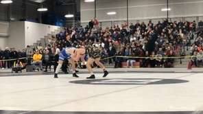 Hauppauge's Danny Mauriello won via a 3-2 decision