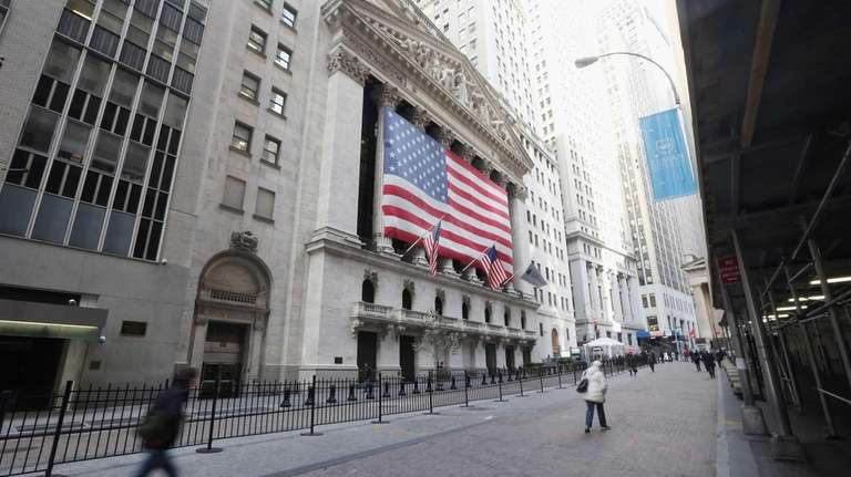 Although the New York Stock Exchange is open,