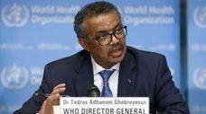 Dr. Tedros Adhanom Ghebreyesus, the World Health Organization's