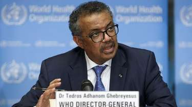 Dr. Tedros Adhanom Ghebreyesus, the World Health Organization's