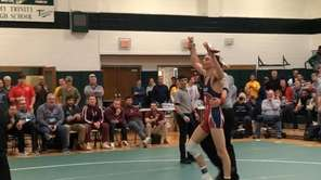 St. John the Baptist wrestler Stephen Crisci and