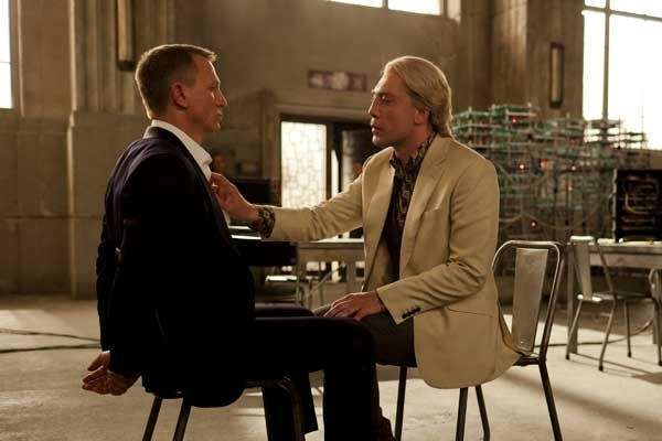Daniel Craig, left, and Javier Bardem in quot;Skyfallquot;