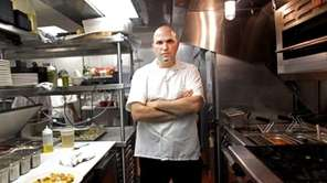 MP Taverna chef-owner Michael Psilakis. The restaurant is