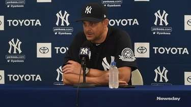 On Monday, Feb . 17, 2020, Yankees manager Aaron
