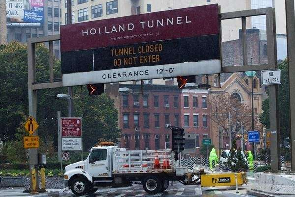 The Holland Tunnel will be open to all