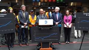 LIRR president Phillip Eng announced Tuesday that the