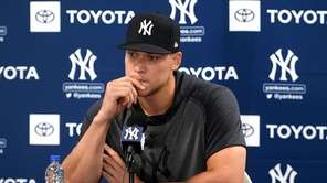 Yankees outfielder Aaron Judge spoke for the first