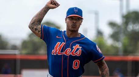 Mets pitcher Marcus Stroman, shown here during a