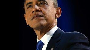 U.S. President Barack Obama delivers his victory speech
