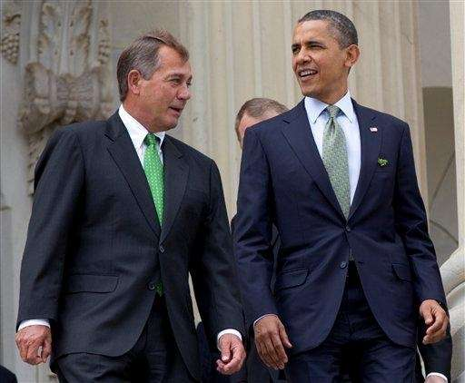 This file photo shows House Speaker John Boehner