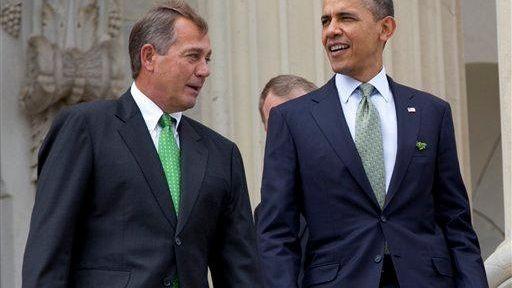 This file photo shows House Speaker John Boehner