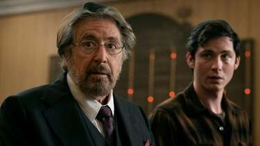 Al Pacino (left) as Meyer Offerman and Logan