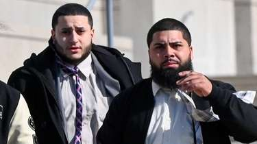 Raymond Soto, Jr., right, and co-defendant Alexis Laguerra,