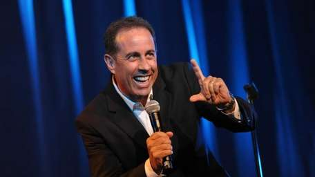Jerry Seinfeld performs onstage at the David Lynch
