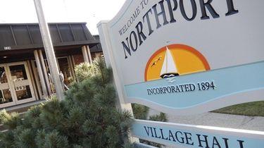 Northport Village Hall.