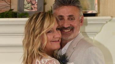 Mary Jane and Richard Sciascia on their wedding