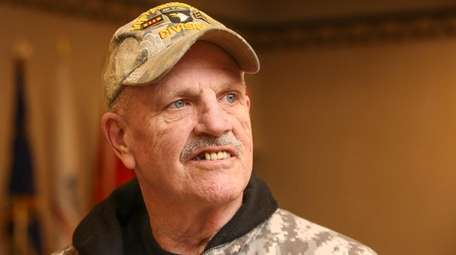 Vietnam veteran Pat Yngstrom, 70, of North Merrick,