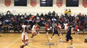 Highlights from top-seeded Amityville's 89-69 win over No. 4 Miller