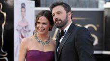 Jennifer Garner and Ben Affleck arrive at the