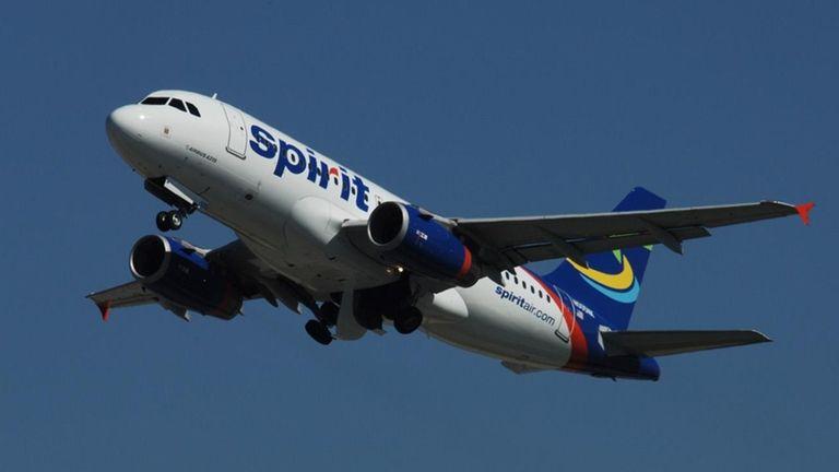 A Spirit Airlines A319.