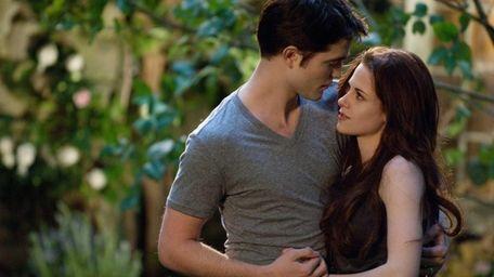 Robert Pattinson and Kristen Stewart in