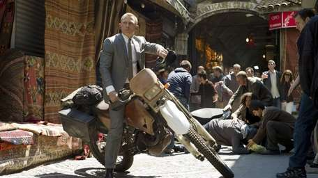 Daniel Craig stars as British agent James Bond