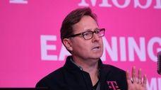 T-Mobile president Mike Sievert said the telecom giants