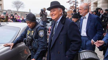 Roger Stone, a longtime advisor to President Donald