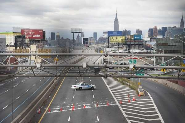 Midtown Tunnel Flooded The Queens-midtown Tunnel