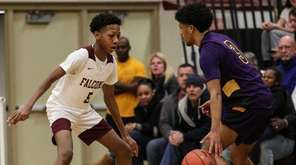 Anthony Daley of Deer Park goes head to