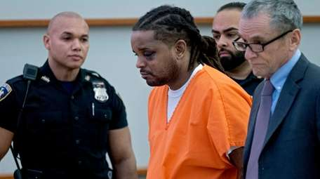 Robert Williams appears in a Bronx courtroom on