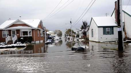 The nor'easter caused more flooding along South Bay