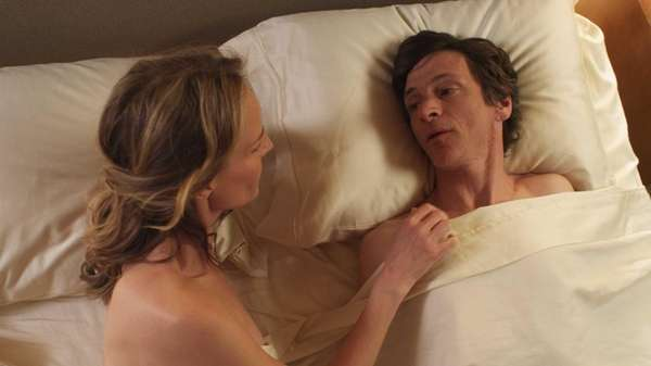 Helen Hunt as Cheryl Cohen and John Hawkes