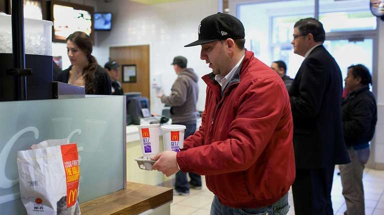McDonald's says global revenue at locations open at
