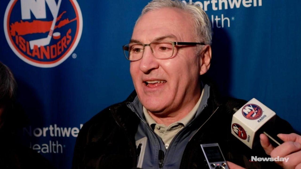 Former New York Islanders forward John Tonelli talks