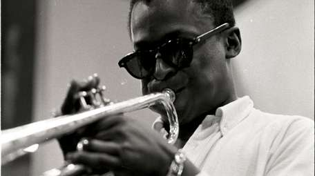 """In this scene from """"Miles Davis: Birth of"""