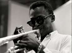 "In this scene from ""Miles Davis: Birth of"