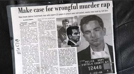 Newspaper clipping of the Sam Sommer case.