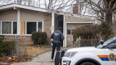Nassau police investigate on Feb. 3 near where