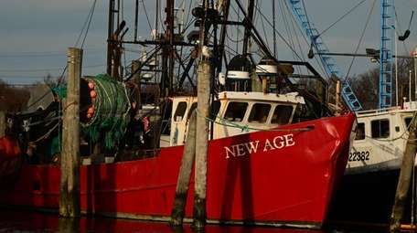 The fishing boat New Age, seen on Feb.