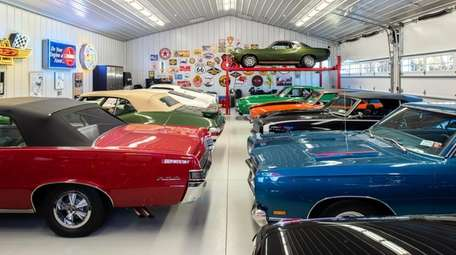 The auto gallery is home to 15 pristine