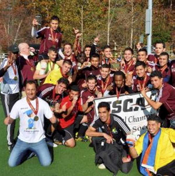 Briarcliffe College men's soccer celebrates 2012 small college