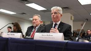 Suffolk County Executive Steve Bellone, before a State