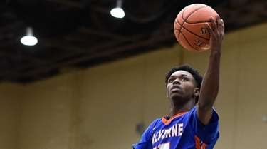 Michael Warren, Jr. of Malverne drives to the