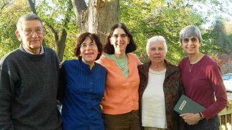 Jane Chrabaszcz Galat, 79, second from right, and
