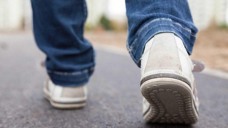 An older person's gait — or walking speed