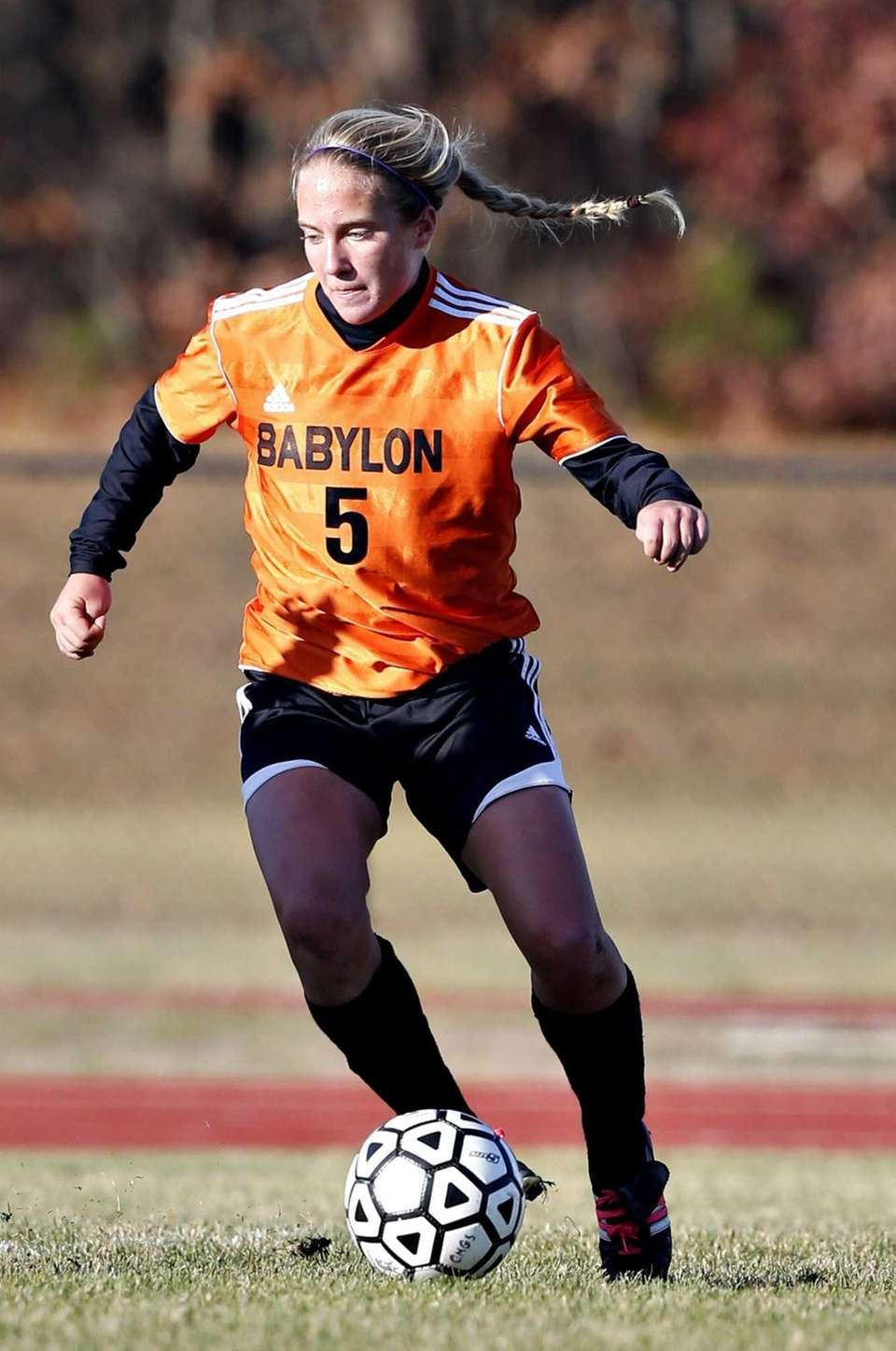 Babylon's Shelby Fredericks. (Nov. 9, 2012)