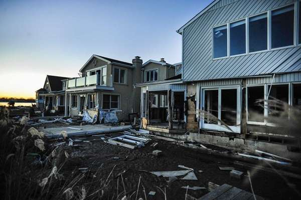 Damaged by superstorm Sandy, at least four of