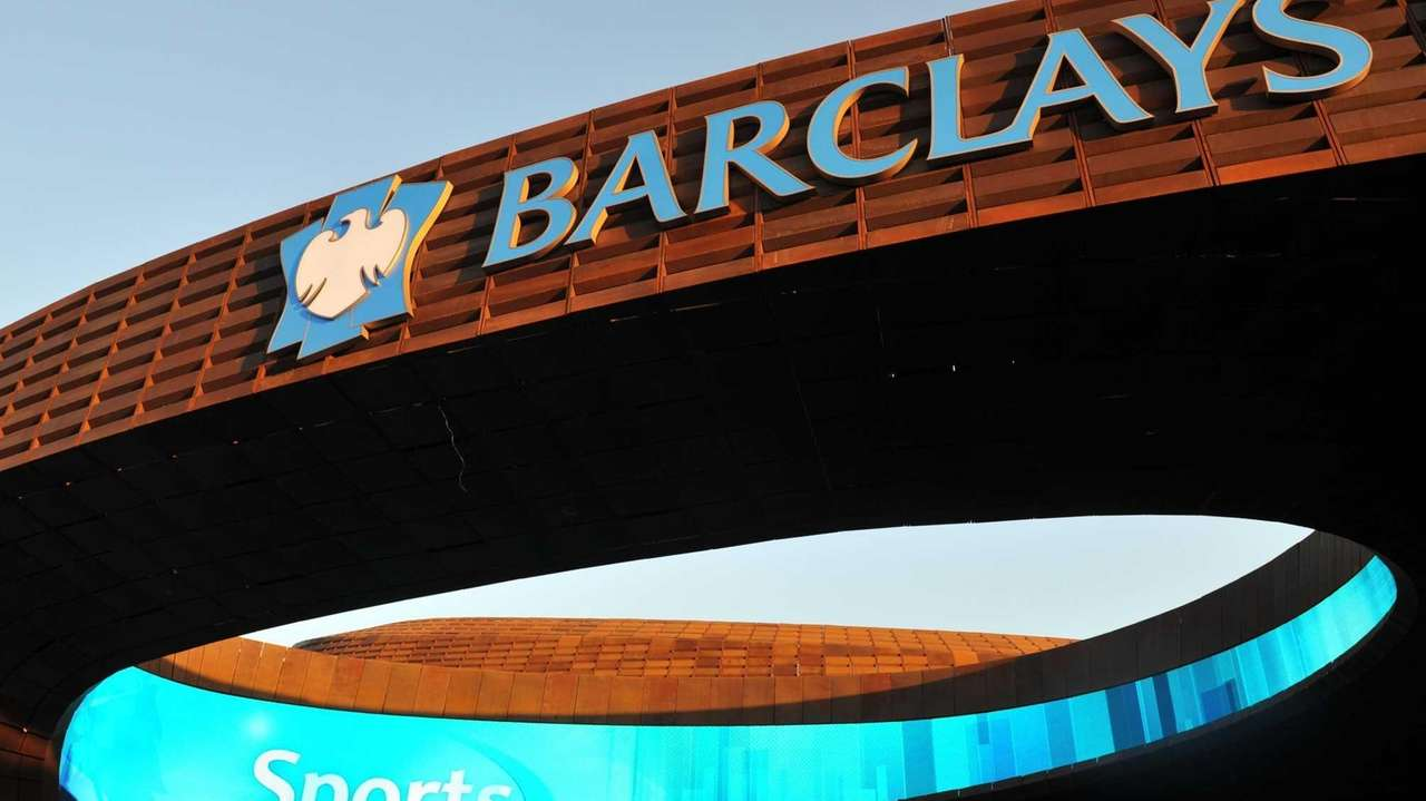 A general view of the Barclays Center before