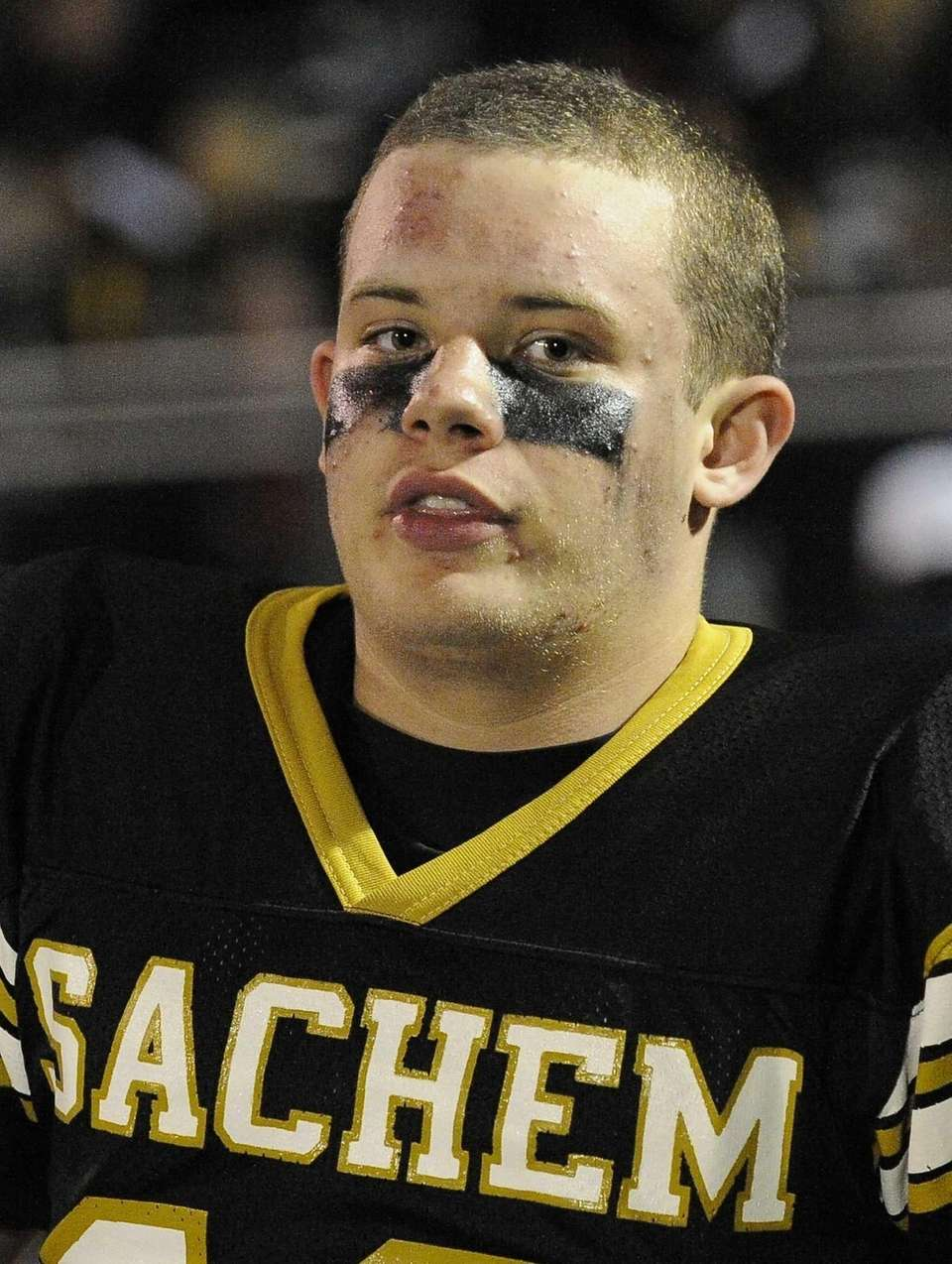 Sachem North's Bryan Morris kicked a first-quarter field